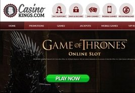 Casino Kings Launches in UK Market