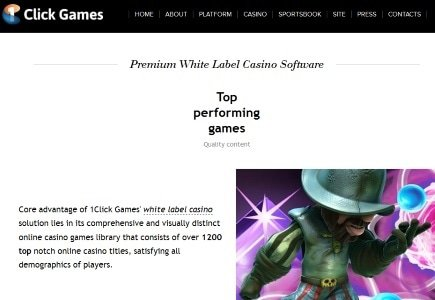 1Click Games Launches White Label