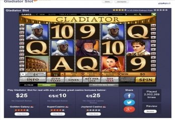 Gladiator: Most Played Free Game on LCB