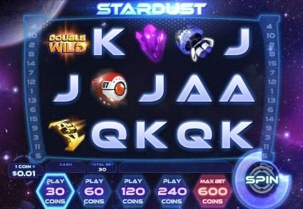 Travel the Final Frontier in Space with WinADay Casino's New 'Stardust' Slot