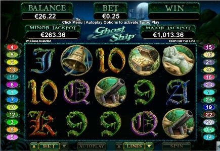 Ghost Ship Slot Launch Brings Cash Back and Free Spins to Grande Vegas Casino