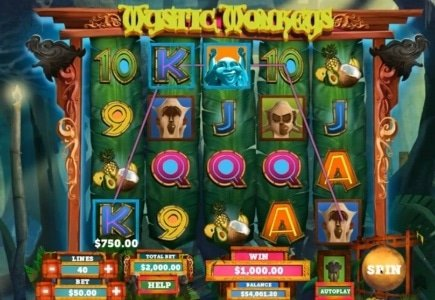 Unibet and Genesis Launch a New Slot-Mystic Monkeys