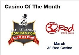 32Red Named LCB March 2015 Site of the Month