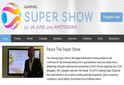 2015 iGaming Super Show Sponsors Announced