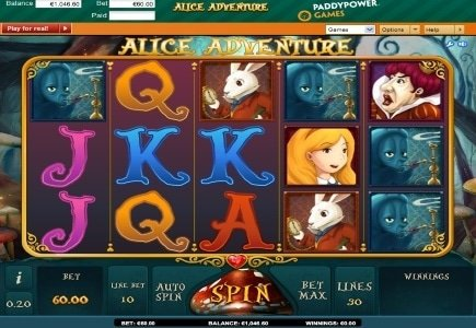 iSoftBet's Alice Adventure Now Available at Paddy Power