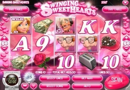 New Slot Title from Rival: Swinging Sweethearts