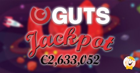 First Progressive Jackpot Win at Guts Casino