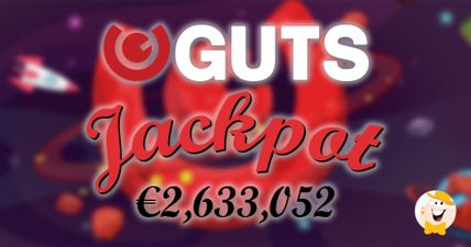 First progressive jackpot win at guts casino