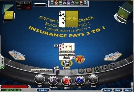 RTG Releases Suit 'Em Up Blackjack