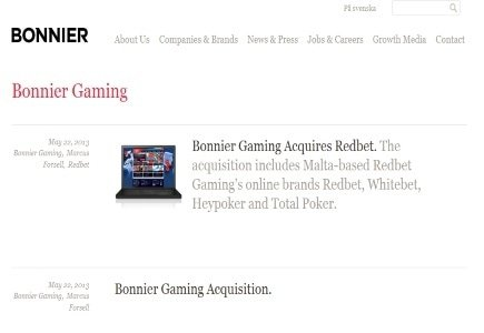 Busy Month for Bonnier Gaming