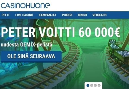 Casinohuone Expands Game Library by Partnering with Quickspin and Play'n GO