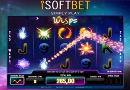 iSoftBet Launches Wisps Slot Game