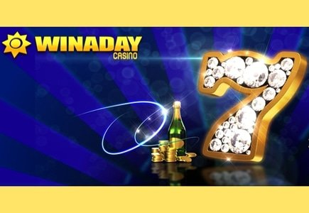 WinADay Casino Turns Seven and Players Receive the Gifts