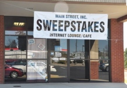 Sweepstakes Gambling Illegal in California Internet Cafes