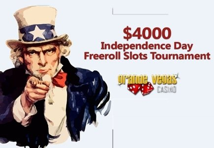 Grande Vegas Independence Day Freeroll Slots Tournament