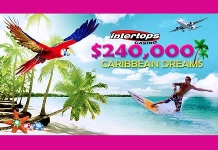 Earn Bonuses Galore during Intertops' Caribbean Dreams Event
