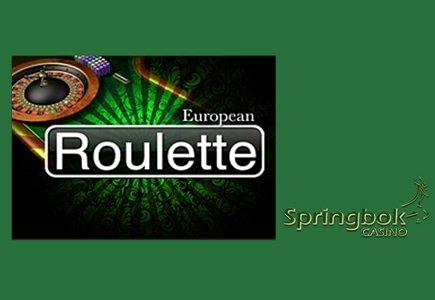 European Roulette Now Available at Springbok Casino