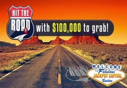 Get Your Travel on During Jackpot Capital Casino's 'Hit the Road' Casino Bonuses