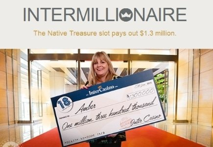 Another Millionaire Comes Out Of InterCasino After Completing 1,600 Free Spins
