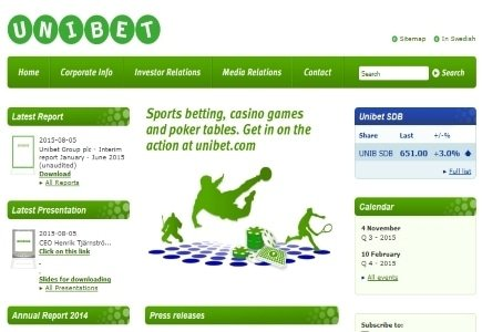 Unibet Acquires iGaming Holding