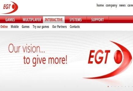 EGT Launches New Online Casino Platform