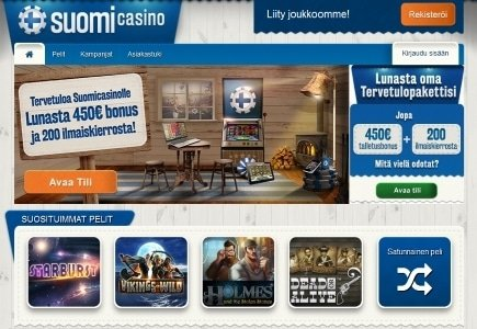 Game Lounge Launches Finnish Facing SuomiCasino.com