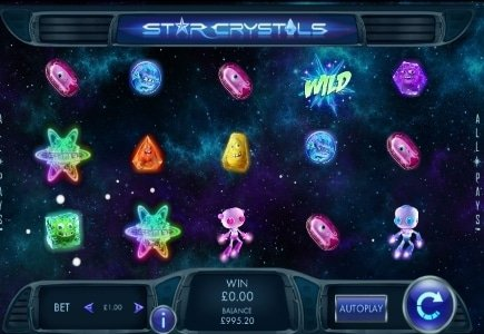Genesis Gaming's Star Crystals Launches at Sky Vegas
