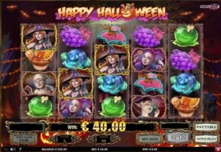 Play'n Go Launches Happy Halloween Slot