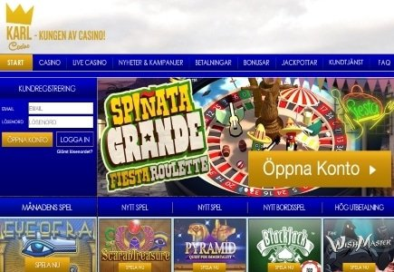KarlCasino Creates Swedish Millionaire