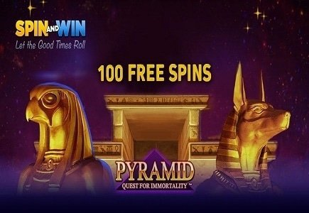 Spin and Win Casino's Pyramid Lucky Number