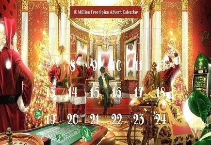 Mr Green Christmas Calendar Starts November 24th