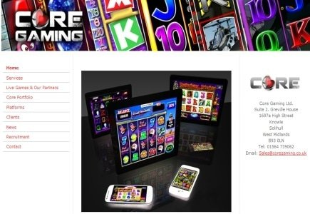 CORE Gaming Online Games Coming to UK Land Based Industry
