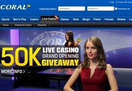 Playtech Launches New Live Casino for Coral