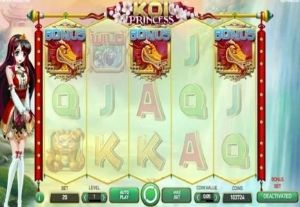 William Hill to Exclusively Launch NetEnt's Koi Princess