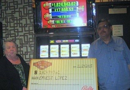 $1.8M Jackpot Won at Golden Nugget Casino Laughlin