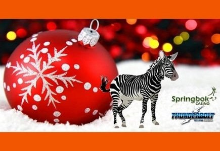 'Naughty or Nice' R25000 Freeroll Slots Tournament Hosted by Springbok and Thunderbolt