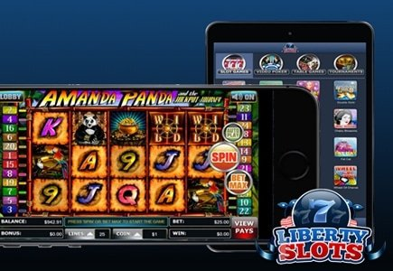 New Look for Liberty Slots Means Mobile Casino Bonus up to $550