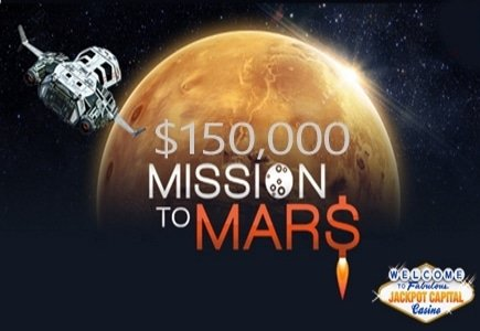 Jackpot Capital Sending Players on a $150K Mission to Mars