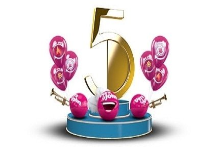 Vera&John Celebrates 5 Years Online with €3000 in Cash Prizes and Super Spins