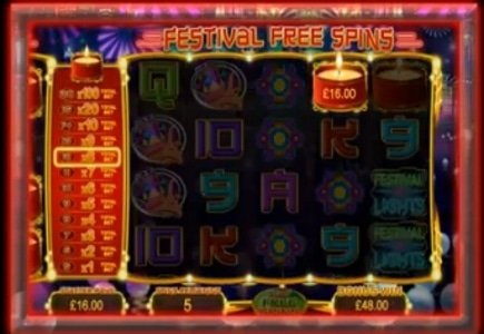 Festival of Lights Slot Awards William Hill's Largest Jackpot on Valentine's Day
