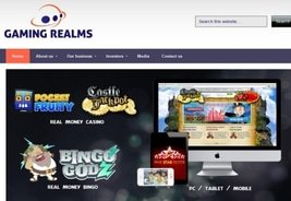 Gaming Realms Sells 3rd Party Operated Websites