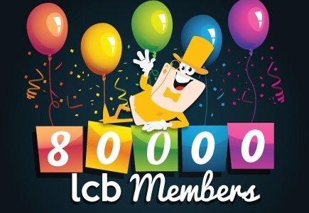 LCB Celebrates 80k Registered Members