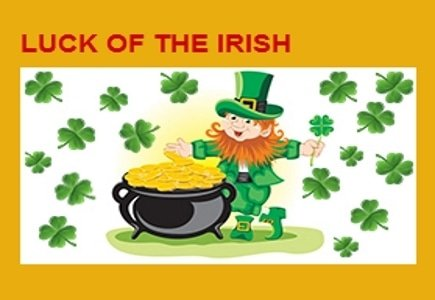 Luck of the Irish Reloads in March from Golden Spins