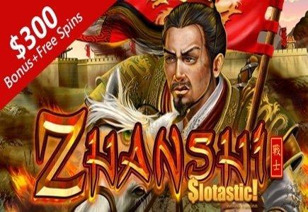 Play RTG's Zhanshi with Slotastic Bonus Offers