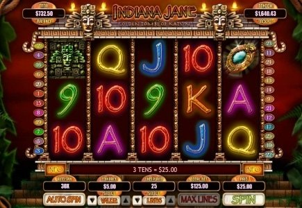 Virginia Player Wins $127,320 on Bovada's Indiana Jane Slot