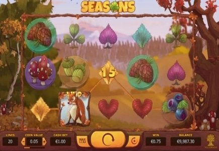 Yggdrasil Gaming Unveils Seasons Video Slot
