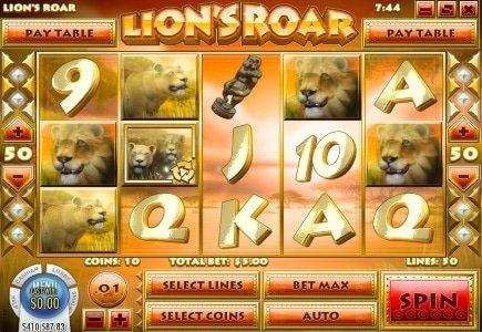 $74,663 Lion's Roar Jackpot for Slots.lv Player