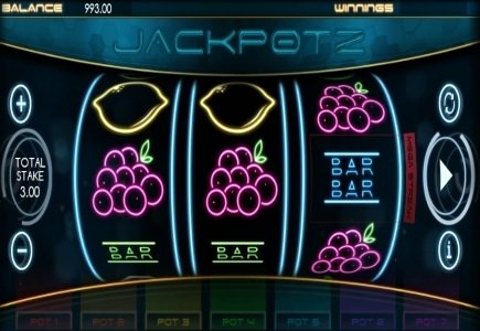 New 7 Progressive Slot from CORE Gaming