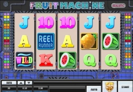 Realistic Games Goes Live with Online & Retail Versions of The Fruit Machine