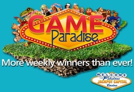 Claim Your Share of Jackpot Capital's $85k Game Paradise Event